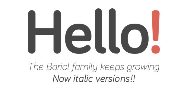 Bariol Regular is a Free Font for Headlines