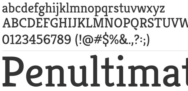 Kreon is a Free Font for Headlines