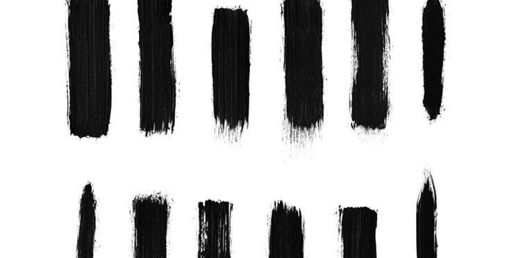 free photoshop brush packs high res dry brush stroke brushes there are 12 brushes in the