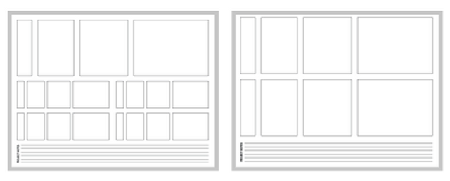 Sketchsheets for Responsive Web Design by Jeremy Palford