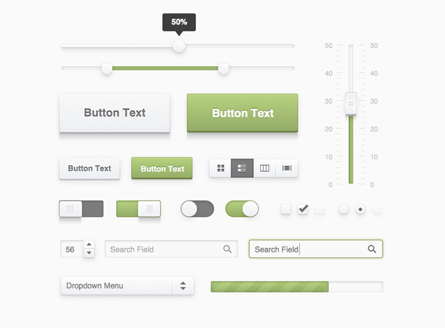 Fresh UI Kit Sketch.app Template