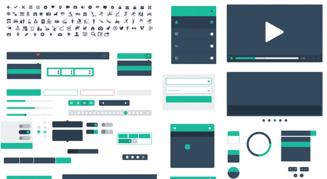 Shapes for Sketch - A Wireframe Kit Sketch.app Template