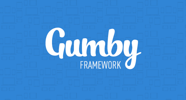 gumby framework responsive rwd preview logo