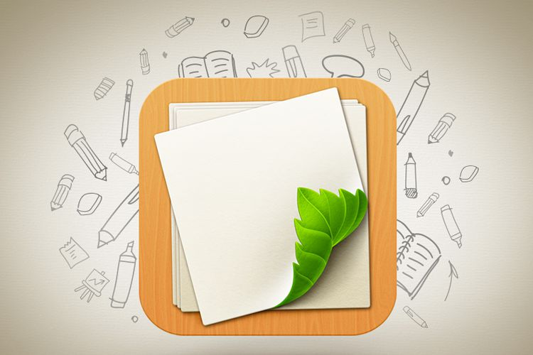 looseleaf ios app icons
