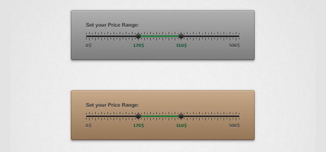 ui tutorials Create a Price Range Filter