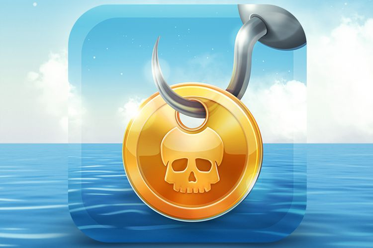 pirates treasure game ios app icon inspiration