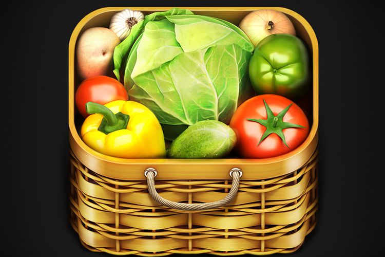 vegetables icon app mobile iphone game