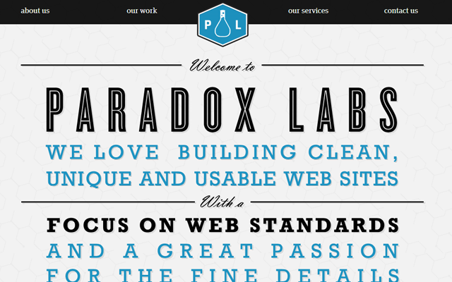 beautiful grand rapids web design portfolio typography big
