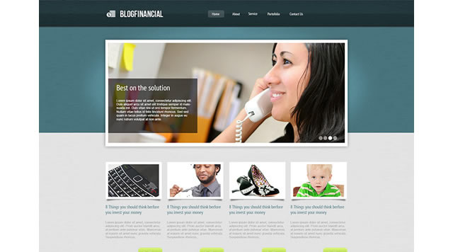 How to Create a Simple and Professionally Looking Financial Website Layout