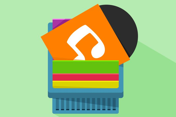 android mobile app icon vinyl music records