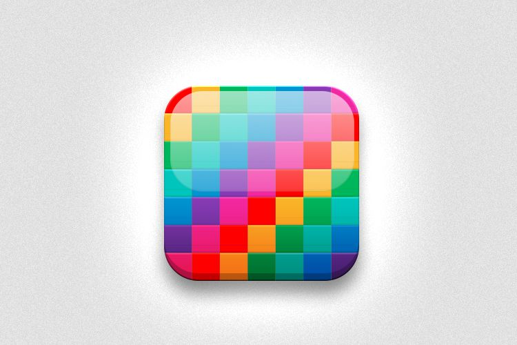 colorful app icon idea mobile smartphone iphone