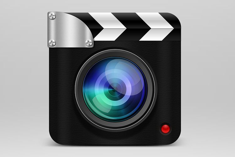 camera clapperboard app recording mobile ios icon