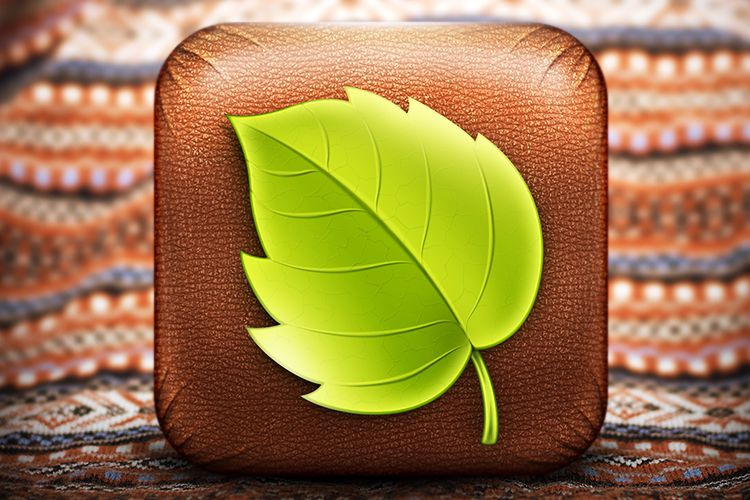 ios leaf wholeapp icon mobile smartphone