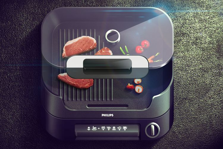 iphone app icon grill cooking