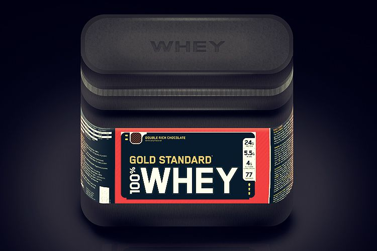 whey powder gold standard ios app icon