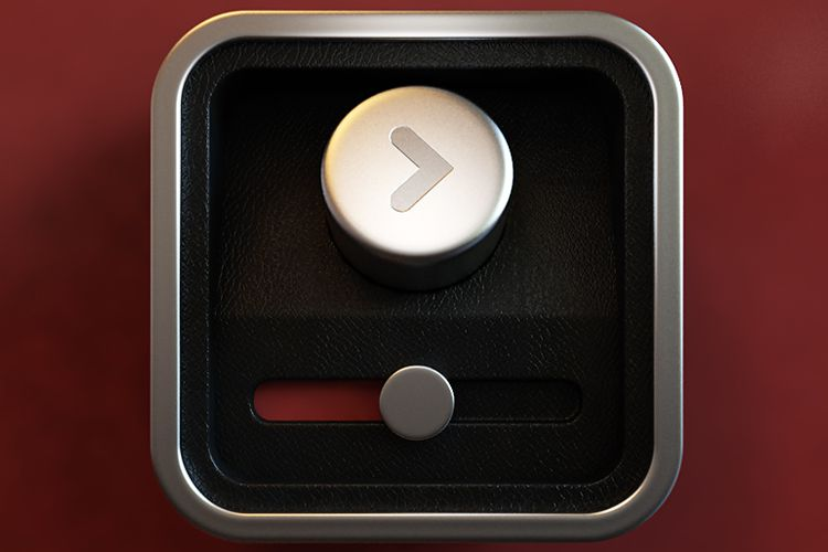video interface ios app icon play pause scrubber