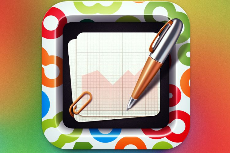 ios lifelimit app icon design paper pen writing