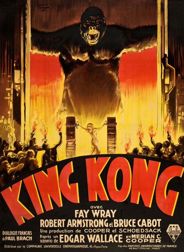 King Kong cult movie poster remake by fans