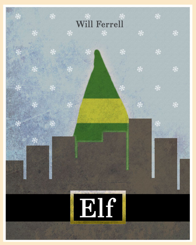 ELF cult movie poster remake by fans