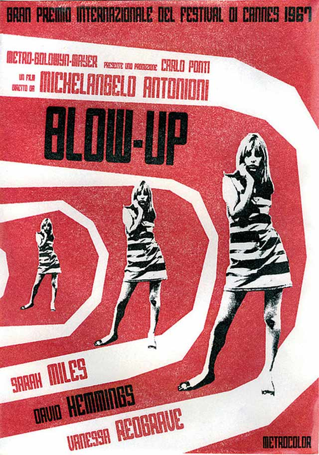 Blow Up movie posters remade by fans for design