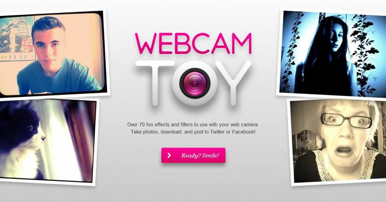 Webcam Toy is an inspiring HTML5 Website