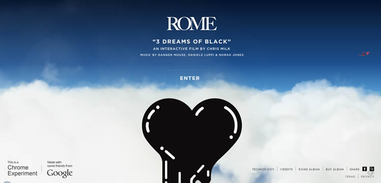 Three Dreams of Black is a Creative and innovative HTML5 Website