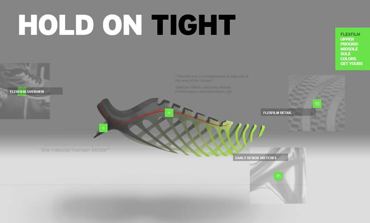 Saucony Kinvara 3 is a Creative and innovative HTML5 Website