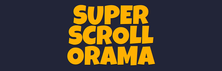 SuperScrollorama popular plugin creating scrolling animated presentations