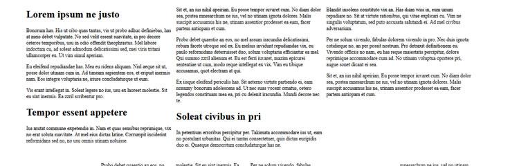 Columnizer easy plugin automatically layout content newspaper magazine style column format