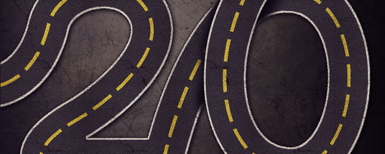 Striped Road-Inspired Text Effect, you will also be shown some tips on how to use the Pen Tool