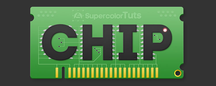 this tutorial you will how to recreate a Computer Chip Text Effect in Photoshop