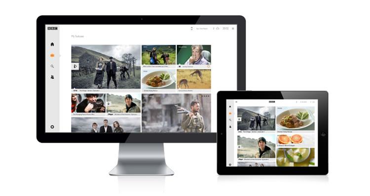 BBC Suitcase - Web Redesign Concept