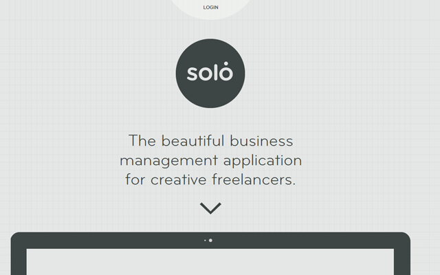 thrive solo so1o portfolio agency design