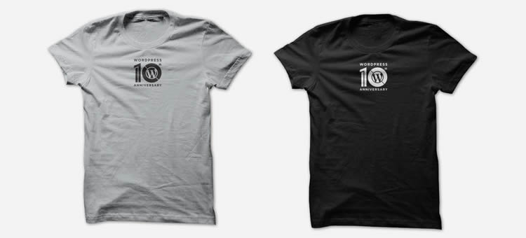 happy birthday wordpress anniversary tees