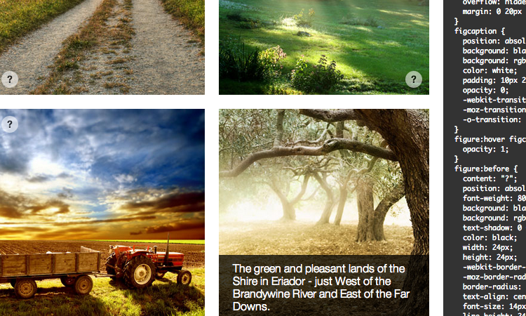 css3 image captions sliding effect css-tricks preview