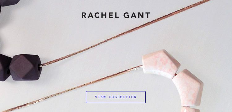 The Rachel Gant Jewelry website example of Ecommerce Sites design