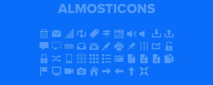 Almosticons - PSD
