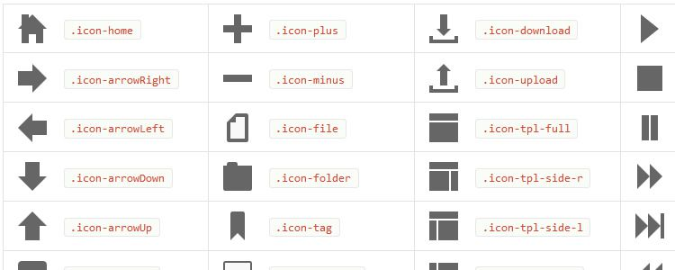 Cikonss - Pure CSS Responsive Icons
