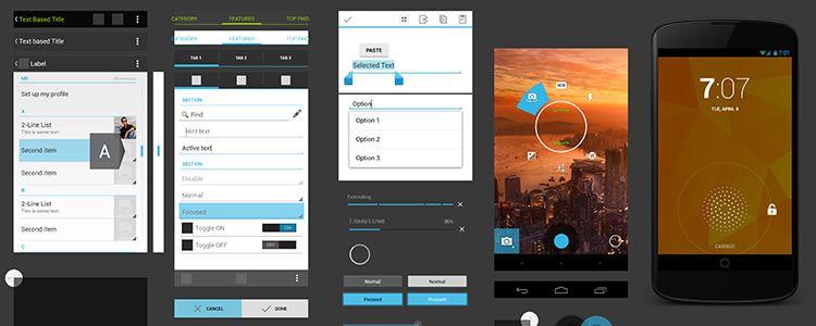 Nexus 4 GUI - PSD