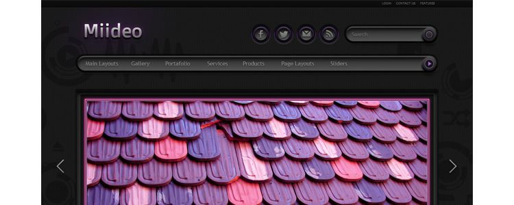 Neon Light WordPress Theme