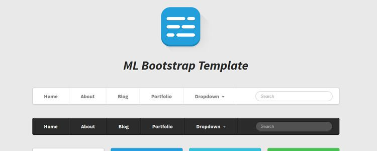 ML Strap - Twitter Bootstrap Theme