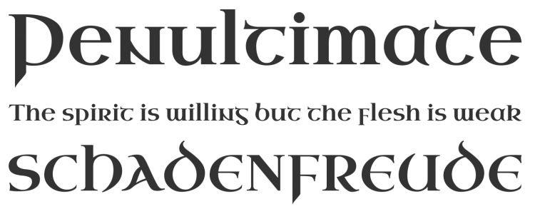 Uncial Antiqua - Web Font