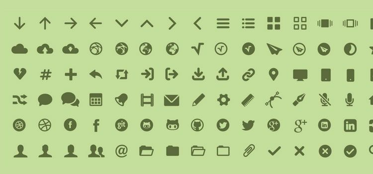 MFG Labs Icon Set Web Font & SVG Best Icon Sets