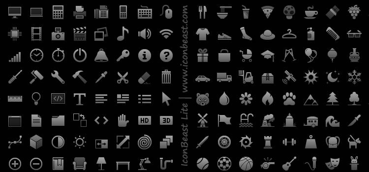 Tab Bar Icons and Symbols for iOS 300 Icons, PNG Best Free Icon Sets