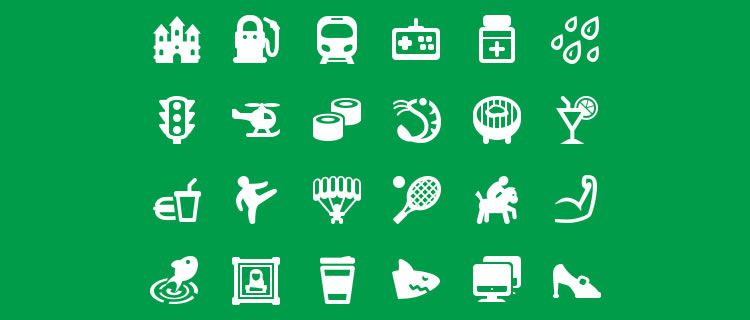 Map Icons Designer 200 Icons, PSD & PNG Best Free Icon Sets