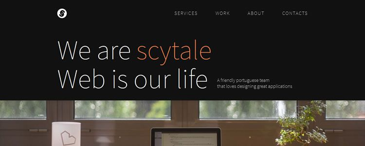 Homepage Of Scytale Inspirational Example Of Modern Minimalism In Web Design