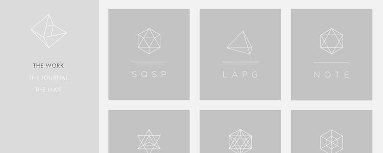 50 beautiful examples of minimalism in modern web design for Design minimal