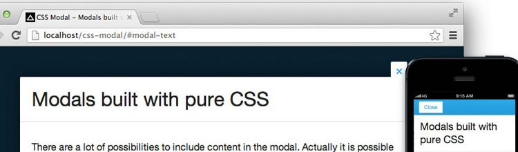 CSS Modal - New Resources for Web Designers tools for Developers