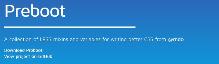 Preboot top 50 css tools resources 2013