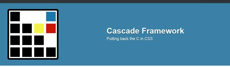 Cascade Framework - New Resources for Web Designers and Developers